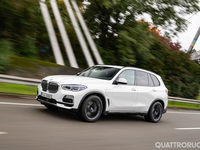BMW X5 - Al volante dell'ibrida xDrive45e