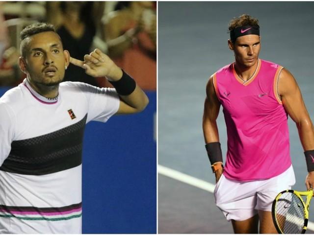 Tutti pazzi per Rafa…o quasi! Appena finito il match, Kyrgios stuzzica lo spagnolo su Instagram
