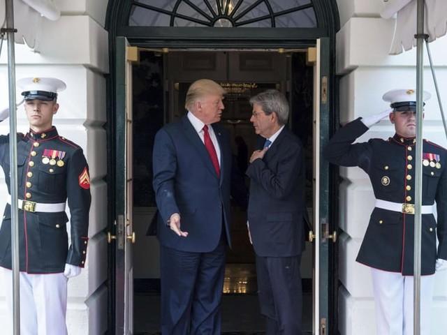 """Donald Trump a Gentiloni: """"L'Italia è un alleato chiave contro il terrorismo"""""""