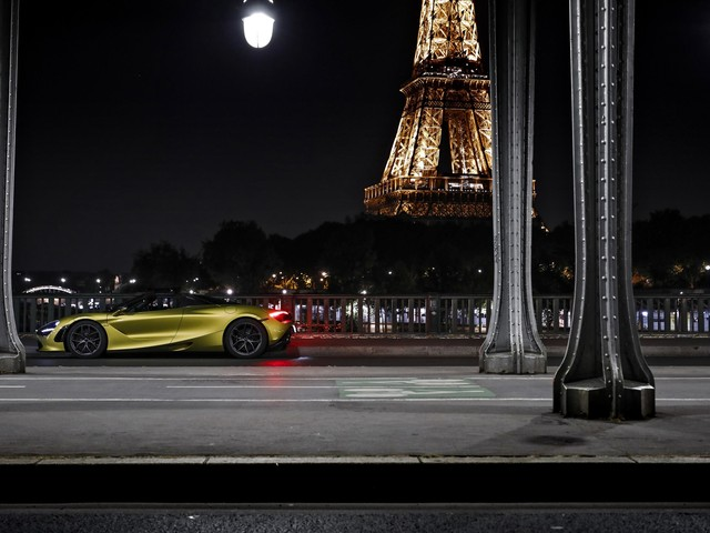 McLaren: aperto un nuovo show room a Parigi