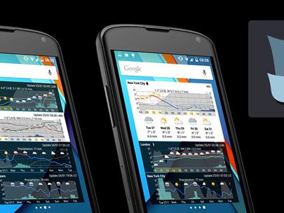 Meteogram Widget per Android – l'evoluzione di Aix Weather è arrivata!