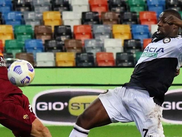 DIRETTA/ Roma Udinese video streaming tv: all'Olimpico arbitra Marco Rapuano