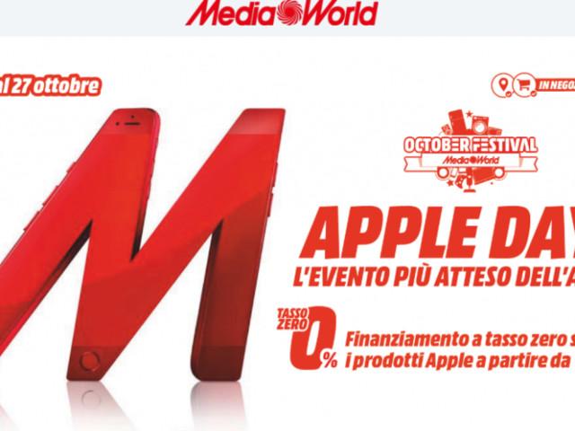 Attesi gli Apple Days Mediaworld: dall'iPhone 7 all'iPhone XS con sconti e tasso zero