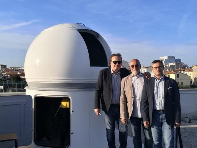 Osservatorio astronomico all'IIS Da Vinci di Civitanova: M5s contribuisce alla realizzazione