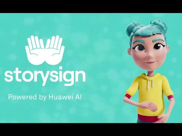 StorySign: l'app di Huawei arriva nelle scuole italiane con Rudy Zerbi