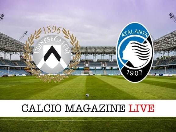 Udinese – Atalanta: cronaca diretta live, risultato in tempo reale