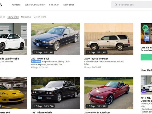 Cars & Bids, ecco le aste più divertenti del mondo