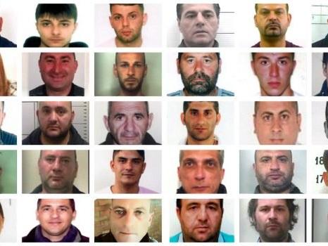 Boss e gregari del clan Santapaola-Ercolano arrestati in tutta Italia: nomi e foto