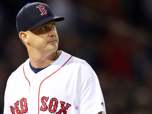 Red Sox Release Steven Wright