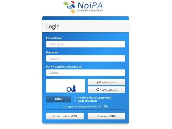 NoiPa: accesso con carta d'identità elettronica, come si effettua