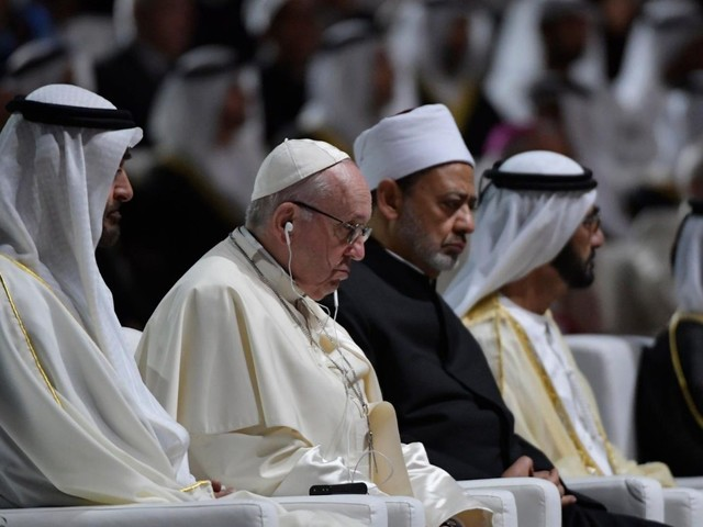 Papa e Grande Imam: storica Dichiarazione su pace, libertà e diritti donne