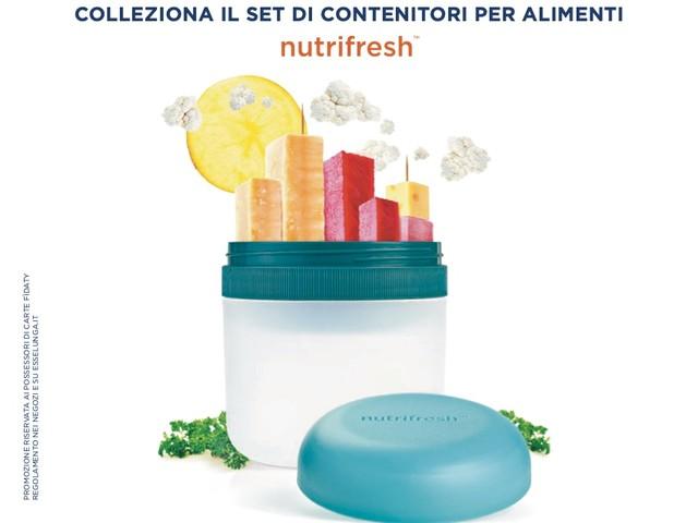 Raccolta punti Esselunga e contenitori per alimenti Nutrifresh: ecco come ottenerli dal 14 settembre al 25 ottobre 2020!