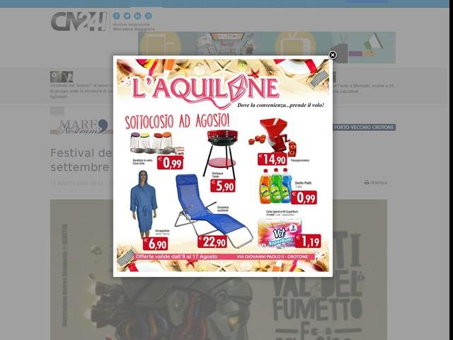 """Festival del fumetto """"Le Strade del Paesaggio"""", a settembre la XIII edizione"""