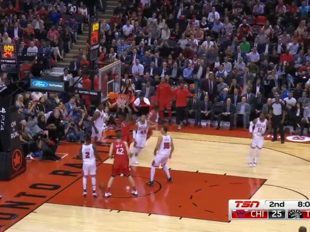 NBA Highlights: Toronto Raptors-Chicago Bulls 117-101