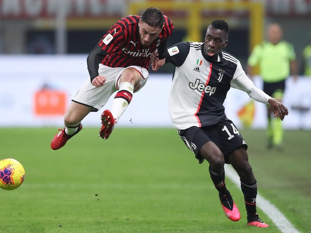 Coppa Italia, Juventus-Milan in diretta in chiaro