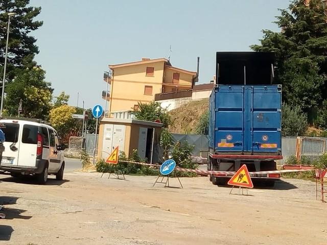 La Rustica, quartiere senza corrente per alcune ore: la rabbia dei residenti