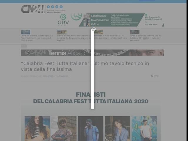 """""""Calabria Fest Tutta Italiana"""": ultimo tavolo tecnico in vista della finalissima"""