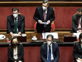 Il governo Draghi ottiene la prima fiducia sul Milleproroghe