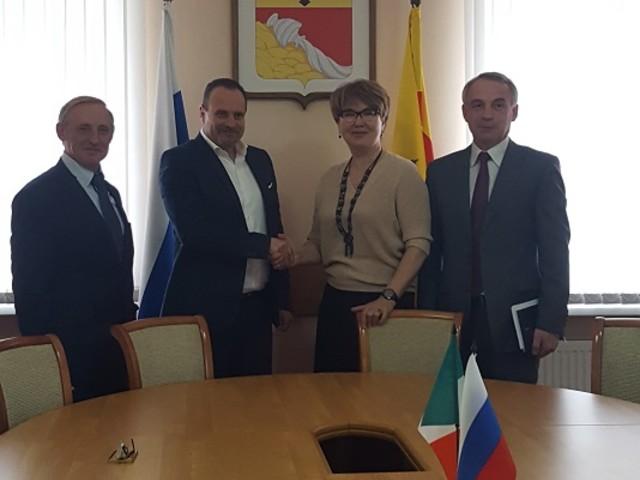 """Sempre più stretti i rapporti commerciali tra Ladispoli e la Federazione Russa"""""""