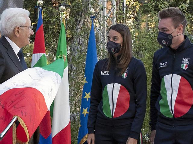 """Mattarellariceve gli olimpionici: """"Avete onorato la bandiera"""""""