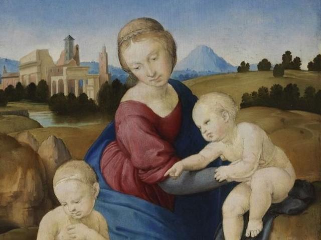 La Madonna Esterházy di Raffaello. A Roma