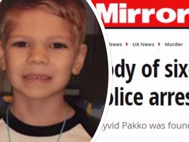 Il piccolo Dayvid Pakko affogato dal cugino e gettato nella spazzatura