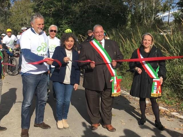 Ciclovia Tirrenica: inaugurato un altro tratto nel Parco della Maremma