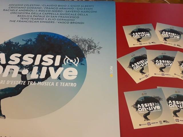 """Tutto pronto per """"Assisi OnLive"""", dall'8 agosto al 17 settembre il progetto estivo della città"""