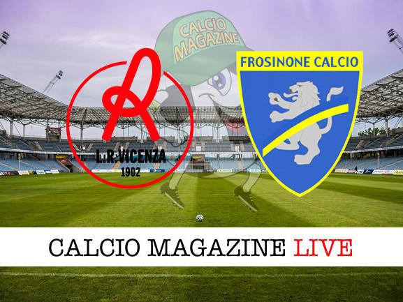Serie B, Vicenza – Frosinone: diretta live, risultato in tempo reale