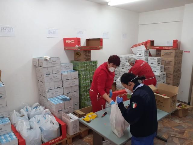Assistenza bisognosi, 143 nuclei familiari dalla rete solidale