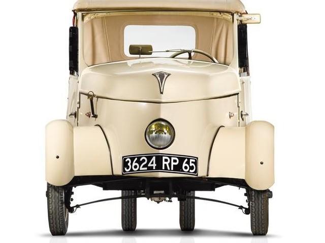 Peugeot VLV, la citycar elettrica della Seconda Guerra Mondiale