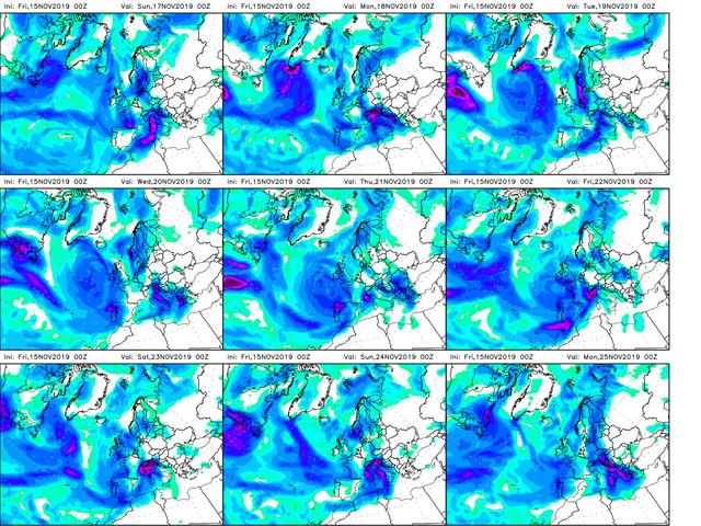 Previsioni Meteo Aeronautica Militare: neve e nubifragi, il bollettino fino al 21 novembre