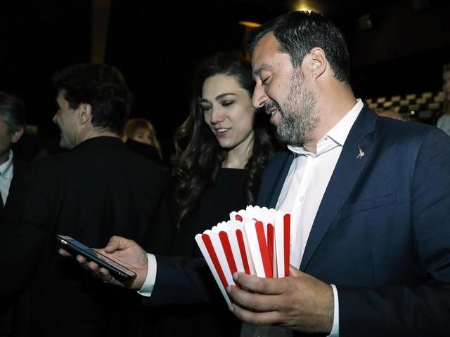 Il nuovo amore di Salvini è la figlia di Denis Verdini ed ha vent'anni meno di lui