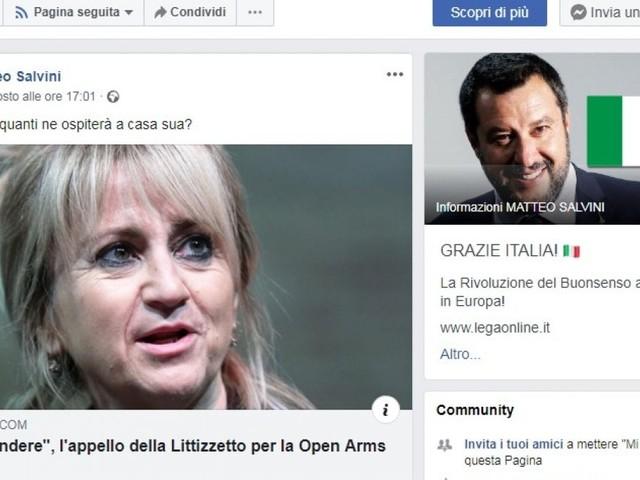 Insulti a Littizzetto e Murgia, sui migranti si rimette in moto la macchina dell'odio di Salvini