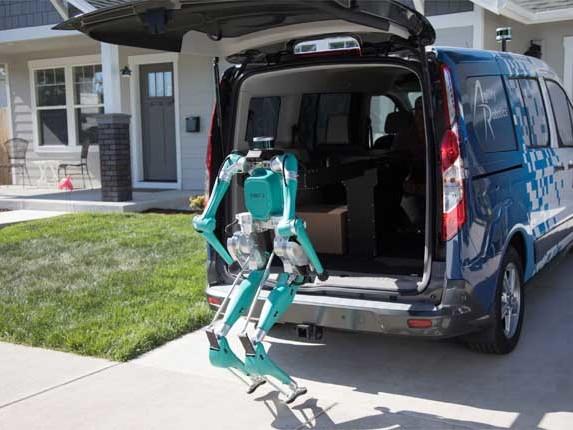 Ford Digit, il robot per le consegne sulla porta di casa