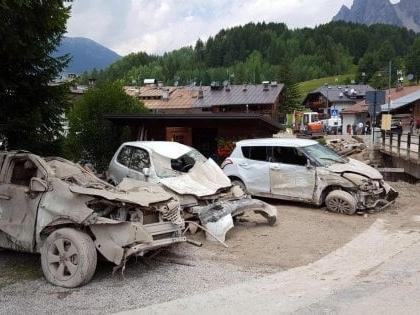 Maltempo, in Alto Adige interrotte per frane strade e ferrovia