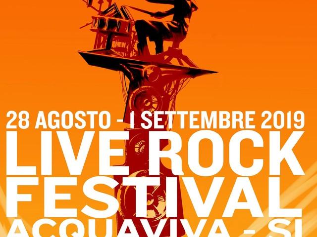Musica da tutto il mondo sui colli senesi. Ad Acquaviva arriva il 23° Live Rock Festival