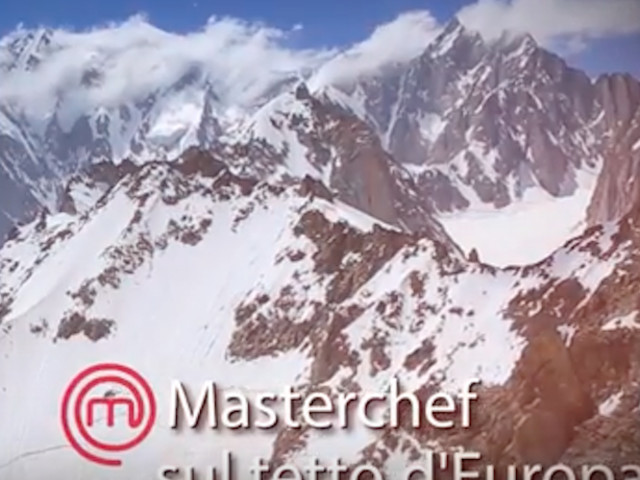 VIDEO. MasterChef sullo SkyWay Monte Bianco sabato 23 settembre