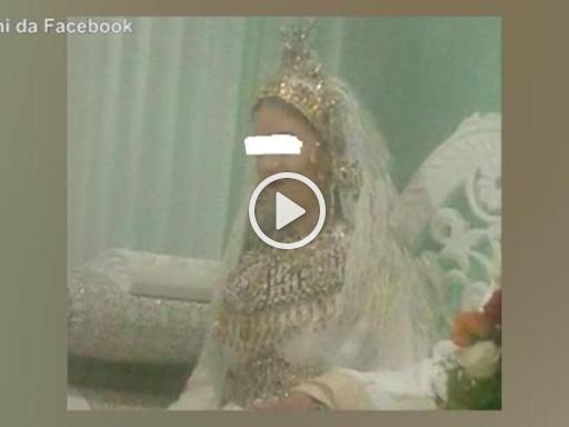 Marocco: la sposa ha solo 13 anni, la polizia interrompe le nozze Il video
