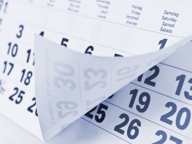 Appuntamenti e scadenze del 25 novembre 2020