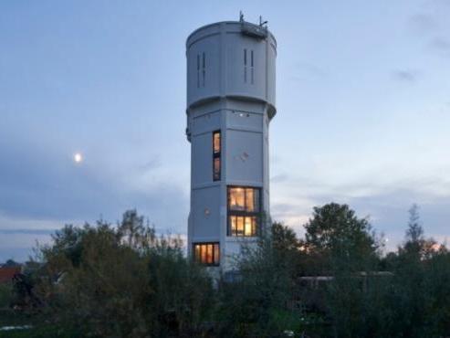 Due cugini trasformano una torre dell'acqua in due case e ne ottengono un premio