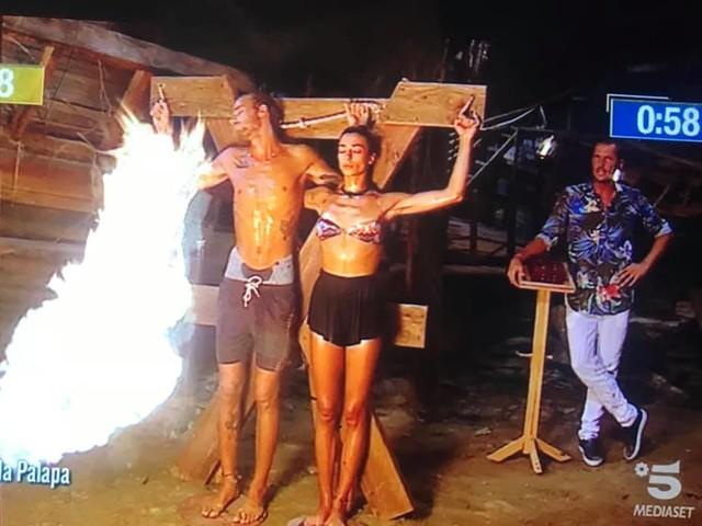 Isola dei Famosi, Soleil vince la prova del fuoco ed è di nuovo la leader della settimana