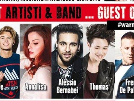 Benji e Fede, Alessio Bernabei e Thomas a Deejay On Stage: gli artisti a Riccione il 22 agosto