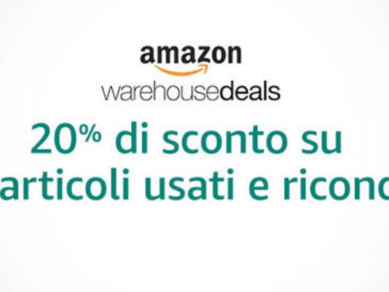 Amazon Black Friday: -20% su usati e ricondizionati