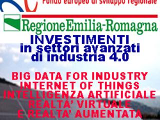 EMILIA ROMAGNA: Attrazione di investimenti in settori avanzati di industria 4.0. Domande fino al 30 settembre 2017