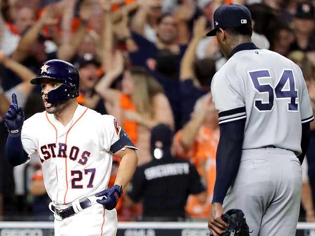 Jose Altuve's Walk-Off Home Run Eliminates Yankees And Moves Astros Into World Series