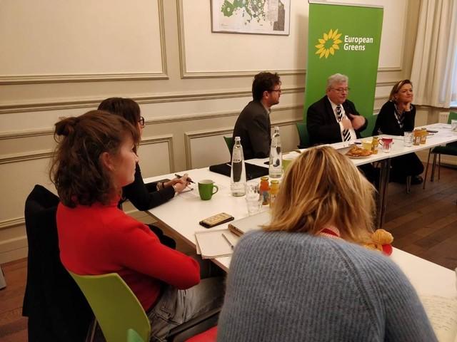 La campagna elettorale del Partito Verde Europeo parte da Berlino e punta all'Italia
