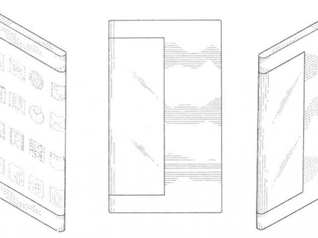Samsung, l'ultimo brevetto immagina uno smartphone avvolto dal display