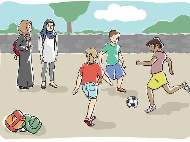 A scuola con la testa libera. La petizione di Terre des Femmes contro il velo per le bambine