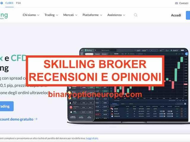 Skilling broker recensioni opinioni [2021] Commissioni Italia